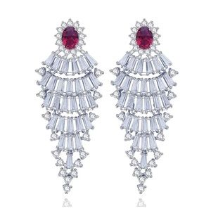 Jewelry - Swarovski Crystals The Melina Statement Earring S4